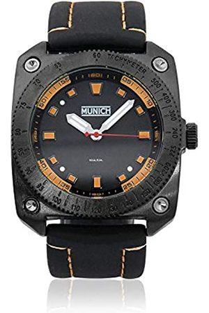 Munich Unisex Adult Analogue Quartz Watch with Rubber Strap MU+121.1B