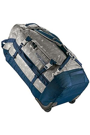 Eagle Creek Cargo Hauler Wheeled Duffel Bag 110L, Split Roller Bag, Foldable Travel Bag with Wheels, Weather and Abrasion Resistant TPU Fabric, with Backpack Straps