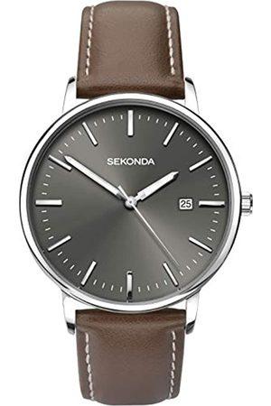 Sekonda Unisex-Adult Analogue Classic Quartz Watch with Leather Strap 1378.27