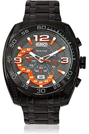 Munich Unisex Adult Analogue Quartz Watch with Stainless Steel Strap MU+134.1B