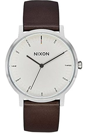 Nixon Mens Analogue Quartz Watch with Leather Strap A1058-104-00