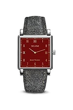 Selvine Womens Analogue Quartz Watch with Stainless Steel Strap SCHE8
