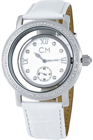Carlo Monti Ladies Automatic Watch with Dial Analogue Display and Leather Strap CM104-186