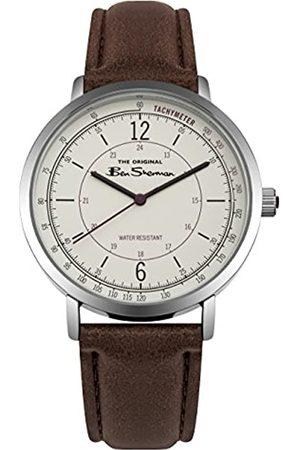 Ben Sherman Mens Analogue Classic Quartz Watch with PU Strap BS006WBR
