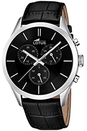 Lotus Men's Quartz Watch with Dial Chronograph Display and Leather Strap 18119/2