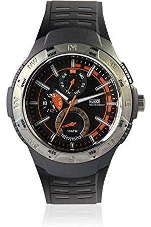 Munich Unisex Adult Analogue Quartz Watch with Rubber Strap MU+118.1B