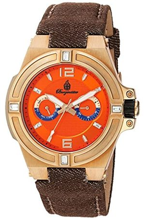 Burgmeister Men's Quartz Watch with Dial Analogue Display and Fabric and Canvas Bracelet BM220-390-1