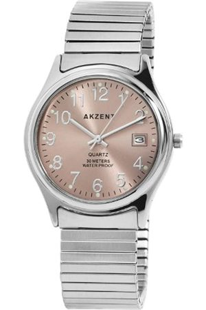 Akzent Men's Watches with Metal Strap SS7421600010