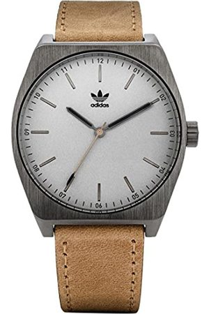 adidas Men's Analogue Quartz Watch with Leather Strap Z05-2916-00