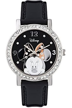 Disney Minnie Mouse Women's Analogue Quartz Watch with Polyurethane Strap - MN1149