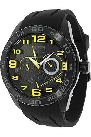 Munich Unisex Adult Analogue Quartz Watch with Rubber Strap MU+136.1C