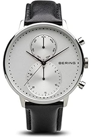 Bering Men's Chronograph Quartz Watch with Leather Strap 13242-404