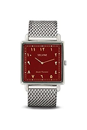 Selvine Womens Analogue Quartz Watch with Stainless Steel Strap SARA10