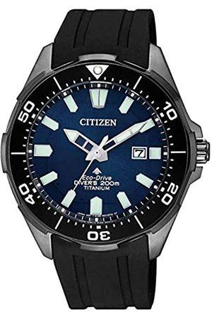 Citizen Mens Analogue Quartz Watch with Plastic Strap BN0205-10L