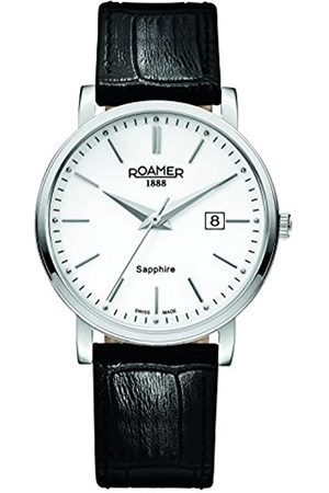 Roamer Men's Quartz Watch with Dial Analogue Display and Leather Strap 709856 41 25 07