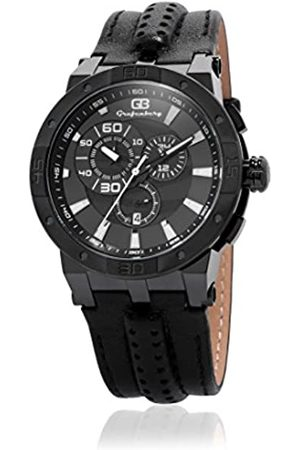 Grafenberg Men's Quartz Watch with Dial Analogue Display and Leather Bracelet GB202-622