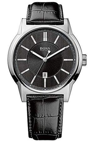 HUGO BOSS Men's Quartz Watch ARCHITECTURE ROUND 1512911 with Leather Strap