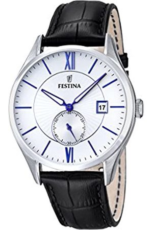 Festina Men's Quartz Watch with Dial Analogue Display and Leather Strap F16872/1