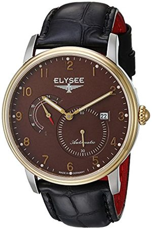 ELYSEE Unisex Adult Analogue Automatic Watch with Leather Strap 77016B