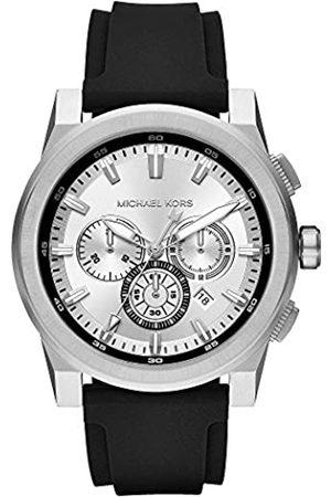 Michael Kors Men's Analogue Quartz Watch with Silicone Strap MK8596