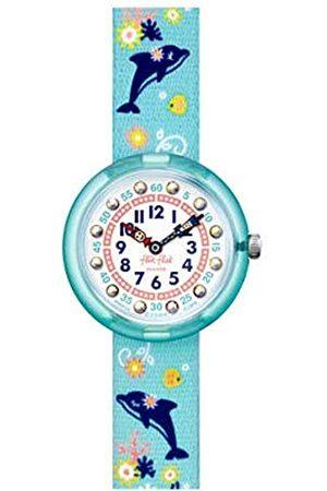 Flik Flak Girls Analogue Quartz Watch with Plastic Strap FBNP124