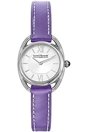 Saint Honore Women's Analogue Quartz Watch with Leather Strap 7210261AIN-PUR