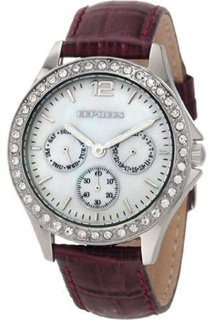 CEPHEUS Ladies Quartz Watch CP502-488 With Swarovski Crystals