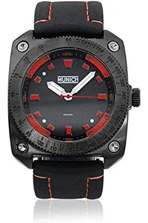 Munich Unisex Adult Analogue Quartz Watch with Rubber Strap MU+121.1A