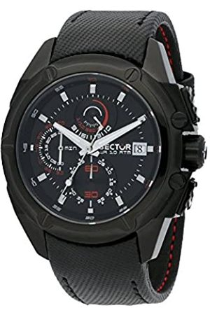 Sector Men's Chronograph Quartz Watch with Leather Strap R3271981002