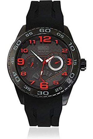 Munich Unisex Adult Analogue Quartz Watch with Rubber Strap MU+136.1A