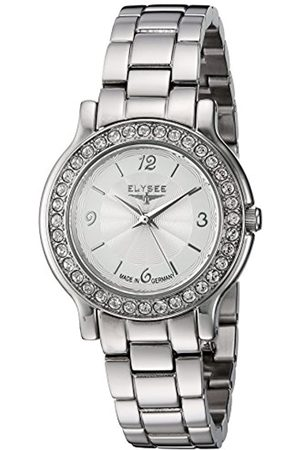 ELYSEE Unisex Adult Analogue Quartz Watch with Stainless Steel Strap 28610