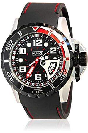 Munich Unisex Adult Analogue Quartz Watch with Rubber Strap MU+106.1B