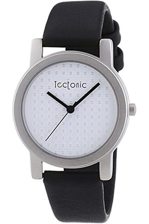 Tectonic Women's Quartz Watch with Dial and Leather Strap 41-6108-14