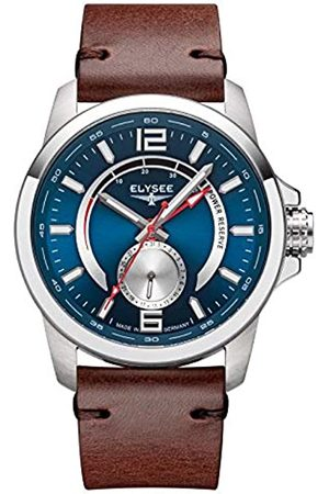 ELYSEE Unisex Adult Analogue Automatic Watch with Leather Strap 80573