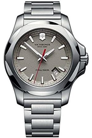 Victorinox Unisex Analogue Quartz Watch with Stainless Steel Plated Strap 241739