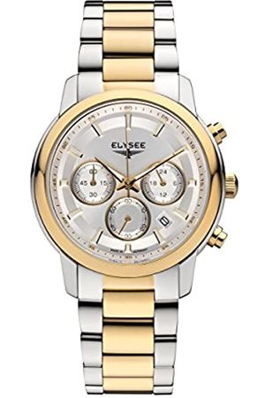ELYSEE Unisex Adult Analogue Quartz Watch with Stainless Steel Strap 11017