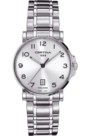 Certina Men's Watch XL Analogue Quartz Stainless Steel C017,410,11,032