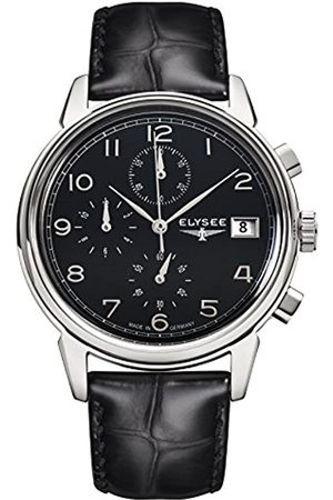 ELYSEE Unisex Adult Analogue Quartz Watch with Leather Strap 80551