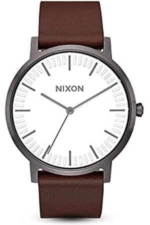 Nixon Men's Analogue Quartz Watch with Leather Strap A1058-2368-00