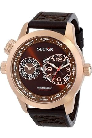 Sector Men's Quartz Watch with Dial Analogue Display and Leather Strap R3271602007