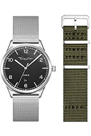 Thomas Sabo Unisex Adult Analogue Quartz Watch with Stainless Steel Strap LOOK19_02_013