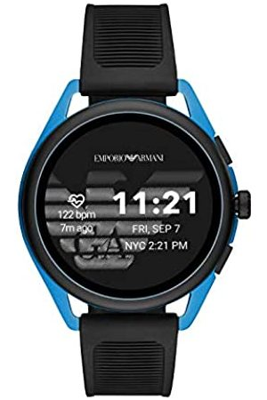 Emporio Armani Mens Digital Watch with Plastic Strap ART5024