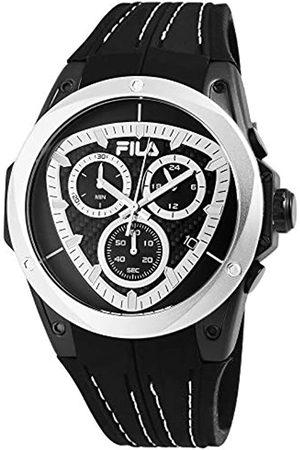 Fila Mens Analogue Quartz Watch with Silicone Strap 38-821-001