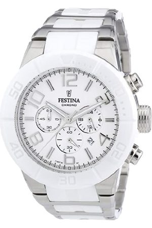 Festina Men's Chronograph Watch F16576/1 with Stainless Steel Strap and Dial