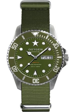 Oxygen Forest 44 Unisex Quartz Watch with Dial Analogue Display and Nylon Strap EX-D-FOR-44-KA