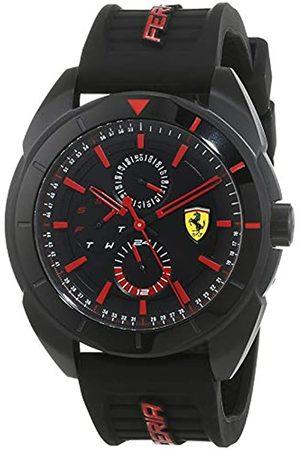 Scuderia Ferrari Mens Multi dial Quartz Watch with Silicone Strap 0830547