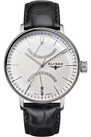 ELYSEE Sithon Men's Quartz Watch with Dial Analogue Display and Leather Strap 13270