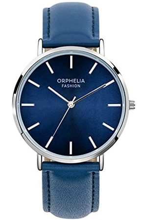 ORPHELIA Mens Analogue Quartz Watch with Leather Strap OF761804
