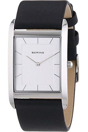 Bering Time Men's Watch Analogue XL Leather 14030–400 Quartz