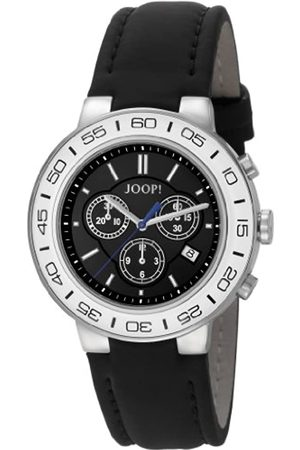 JOOP! Joop Insight Men's Quartz Watch with Dial Chronograph Display and Leather Strap JP100911F06